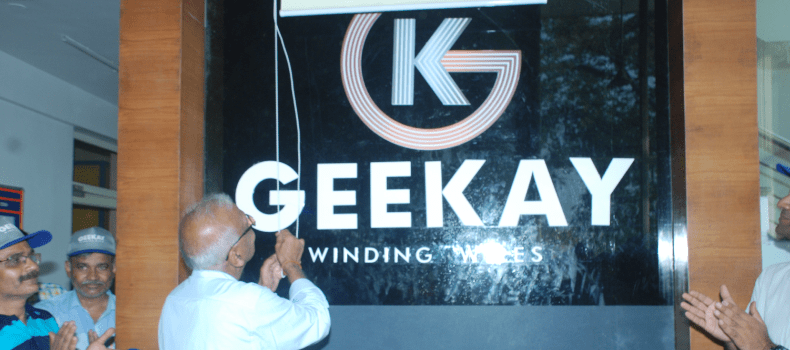 Geekay Chairman unveils new Brand Identity