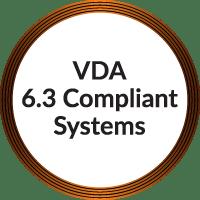VDA 6.3 Compliant systems