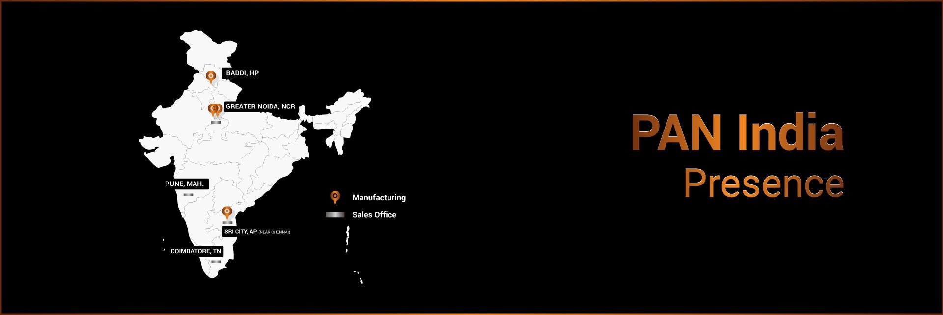 Pan-India-Presence of Geekay
