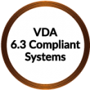 VDA-6.3-Compliant
