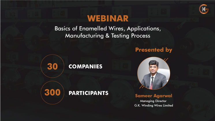 Webinar at Geekay on the Basics of Enamelled Wires